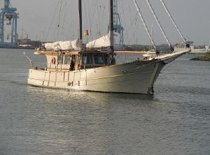 1966 Custom Wooden Trawler