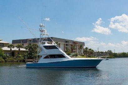 2000 58' Viking-Enclosed Bridge West Palm Beach, FL, US