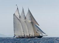 2010 Custom Van der Graff gaff schooner