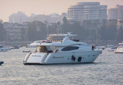 2006 90' 7'' Ferretti Yachts-881 Mumbai, IN