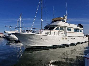 1989 78' Hatteras-Cockpit Motor Yacht Charleston, SC, US