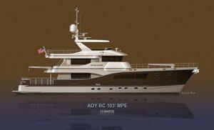 2023 103' All Ocean Yachts BC 103 Multi Purpose-Explorer BR
