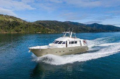1977 71' 10'' Halmatic-Surveyed Motor Yacht Picton, NZ