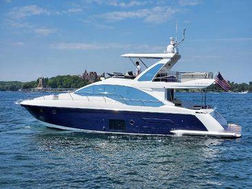 2018 50' Azimut-50 Flybridge Alexandria Bay, NY, US