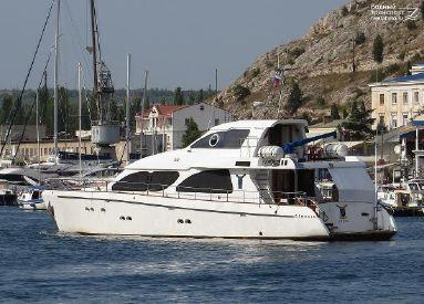 2003 83' Custom-Steel Yacht Novorossiysk, RU