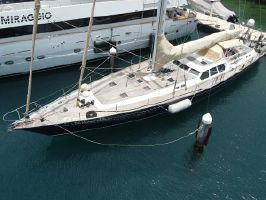 1993 80' 8'' Oyster-80 Deck Saloon Willemstad, CW